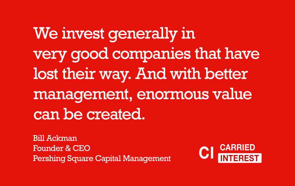 Bill Ackman Value Quote