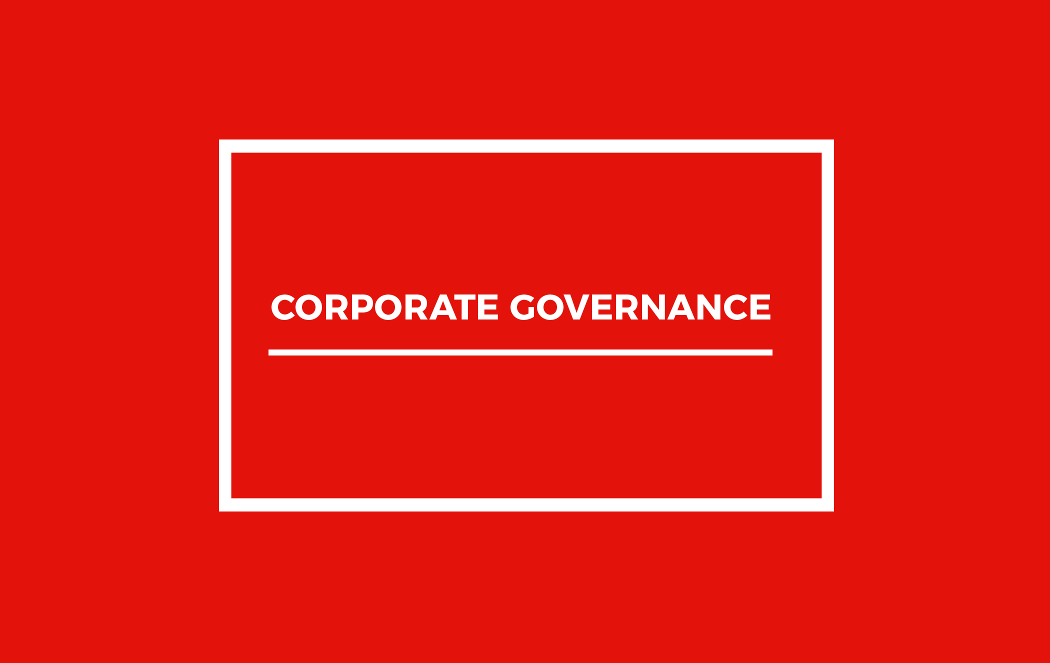 thesis corporate governance Ownership structure, corporate governance, and firm performance: evidence from turkey thesis submitted to the institute for graduate studies in the social sciences.