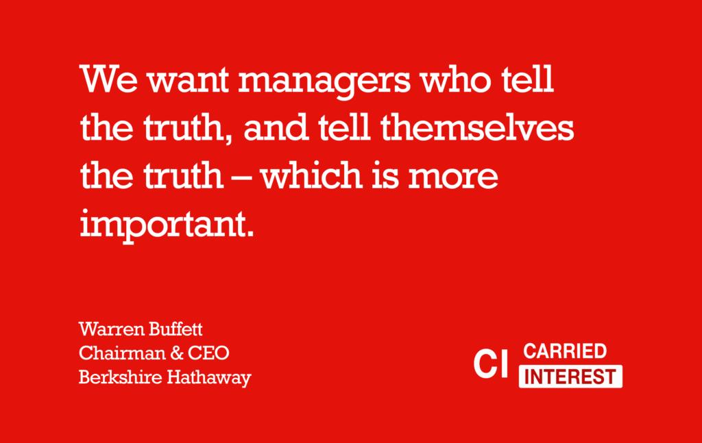 Warren Buffett Truth Quote